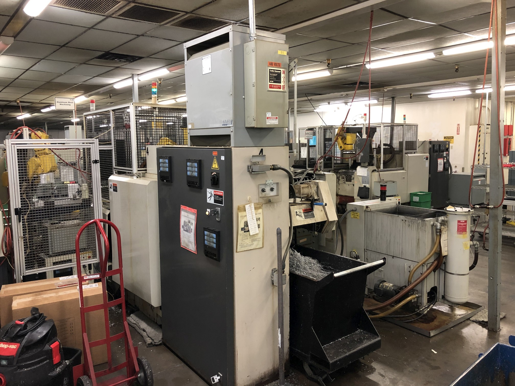 1999 Kitako MT4-200M Multi-Spindle CNC Turning Mill - Image 16 of 19