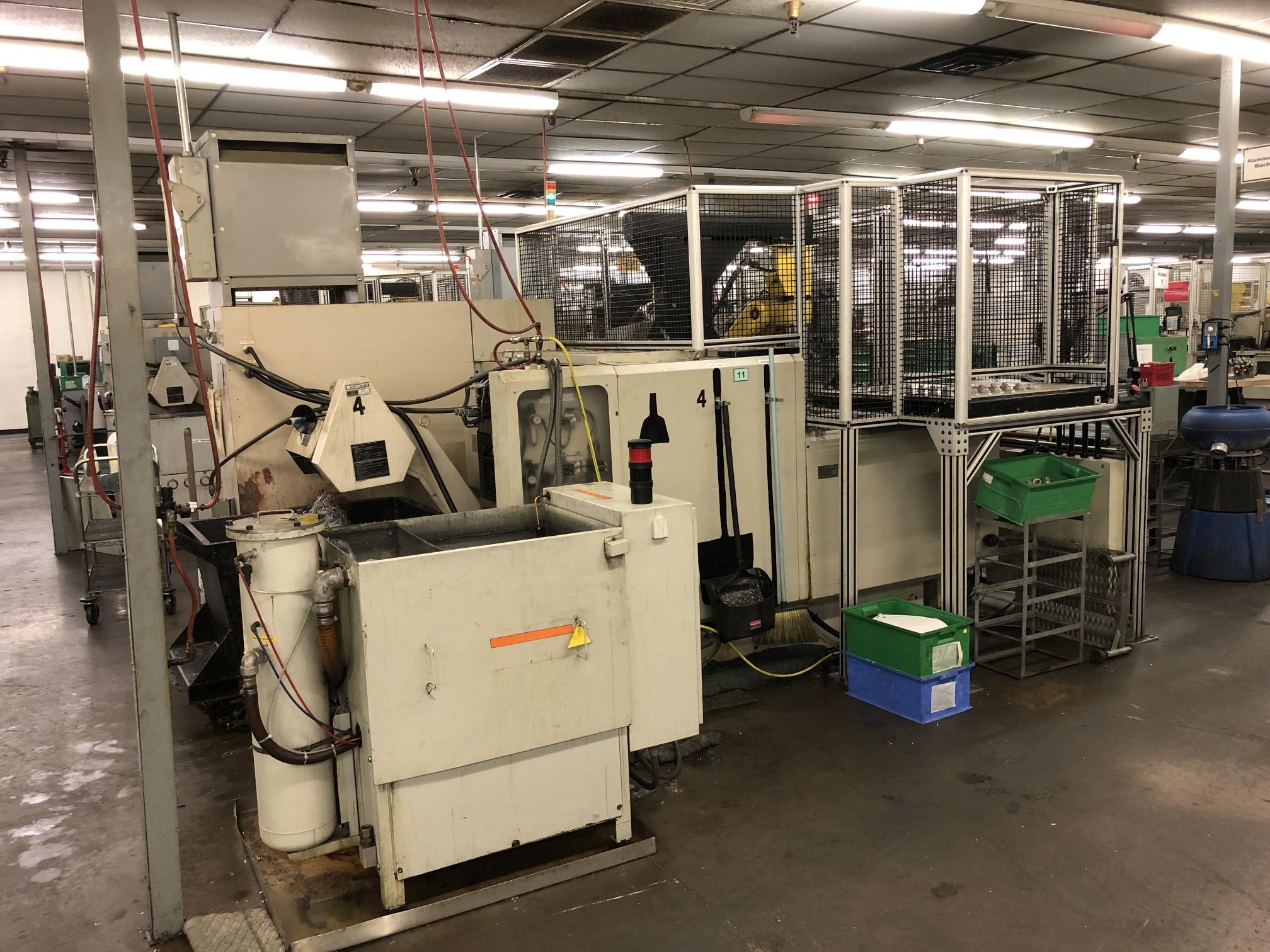 1999 Kitako MT4-200M Multi-Spindle CNC Turning Mill - Image 8 of 19