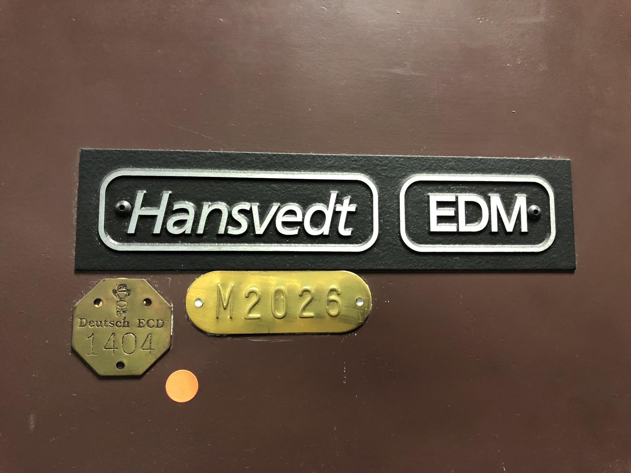 1997 Hansvedt EDM Machine - Image 18 of 18
