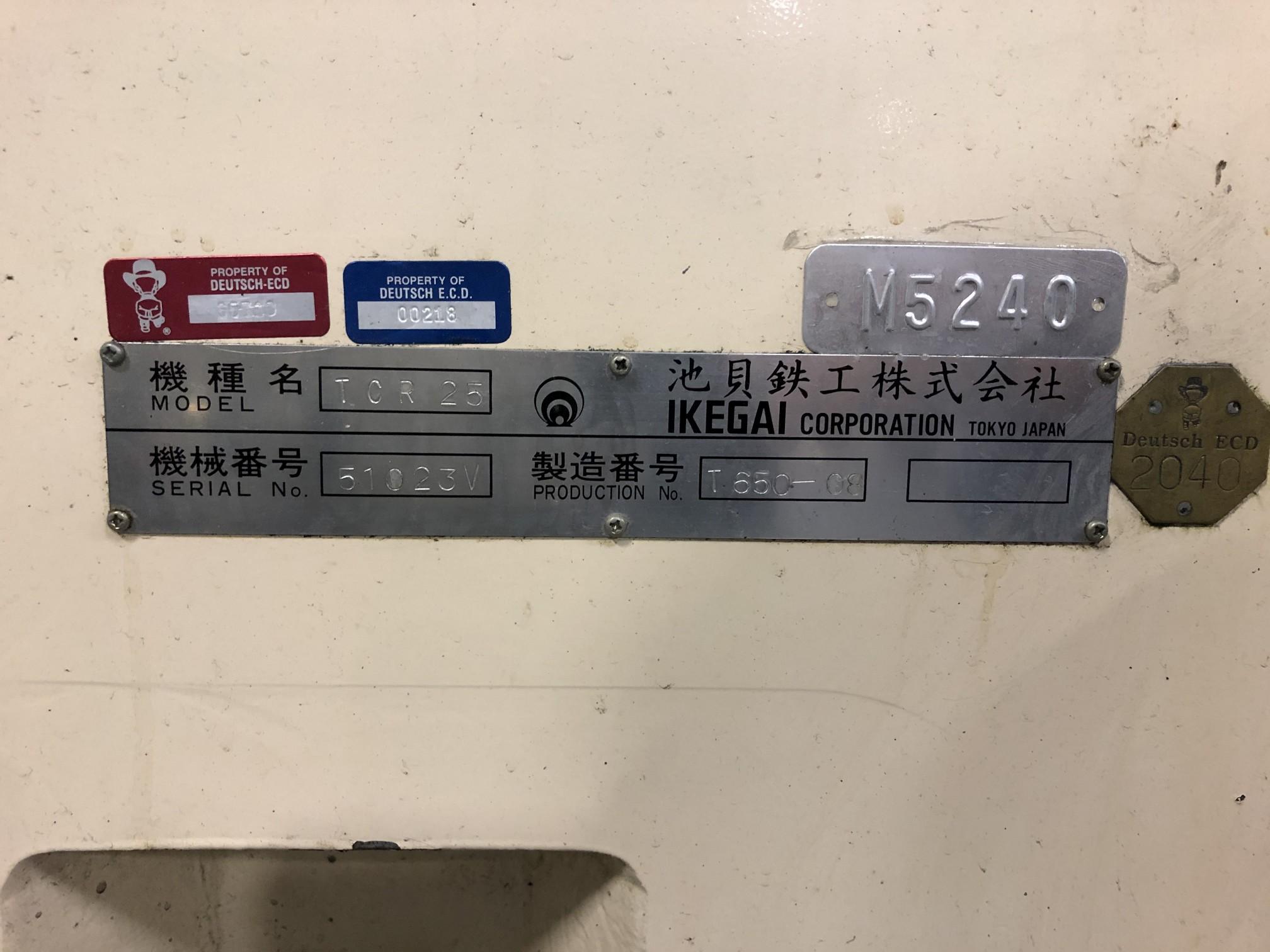 Ikegai TCR25 CNC Lathe - Image 15 of 15
