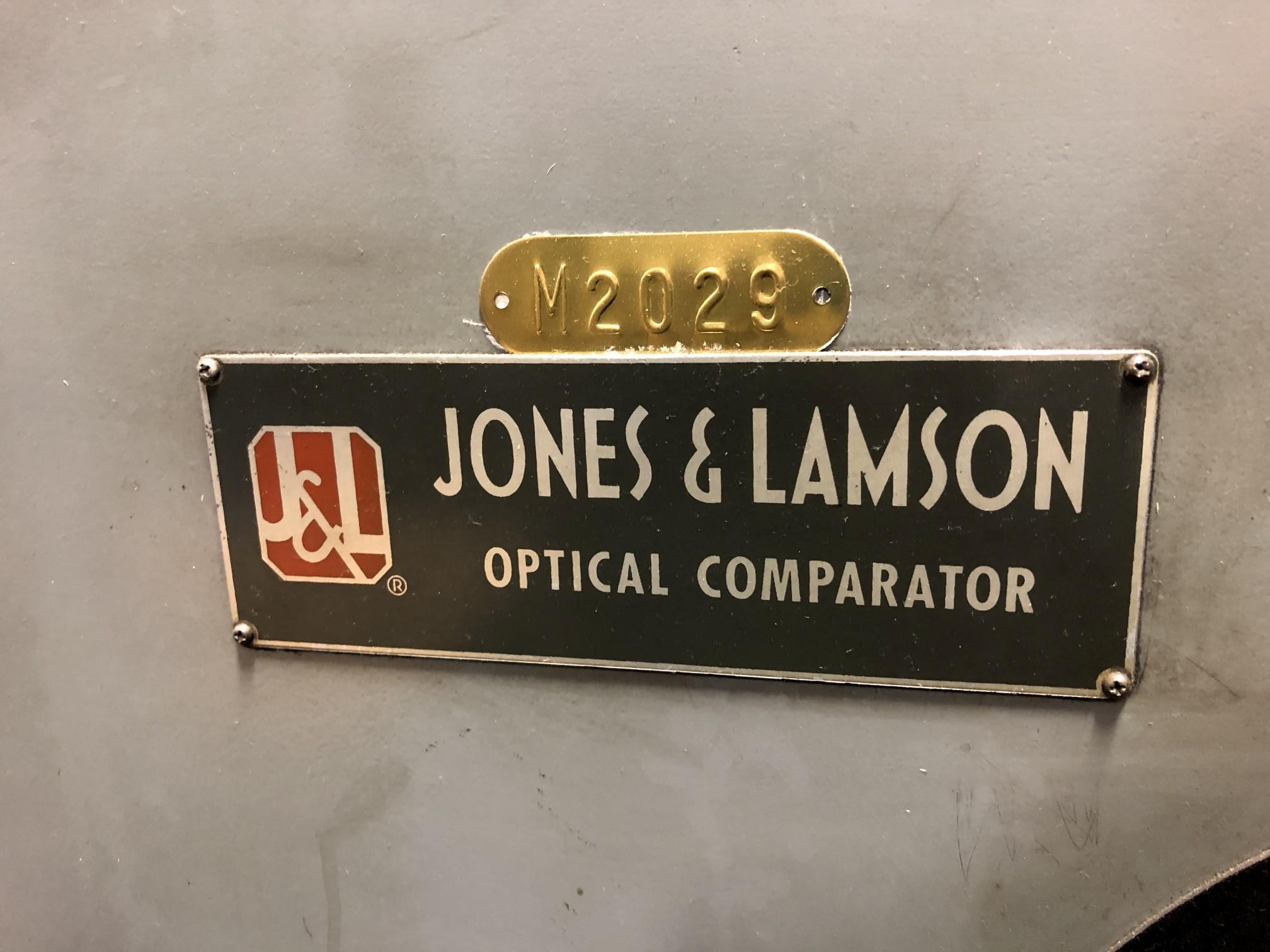 "Jones & Lamson 14"" Optical Comparator - Image 7 of 7"