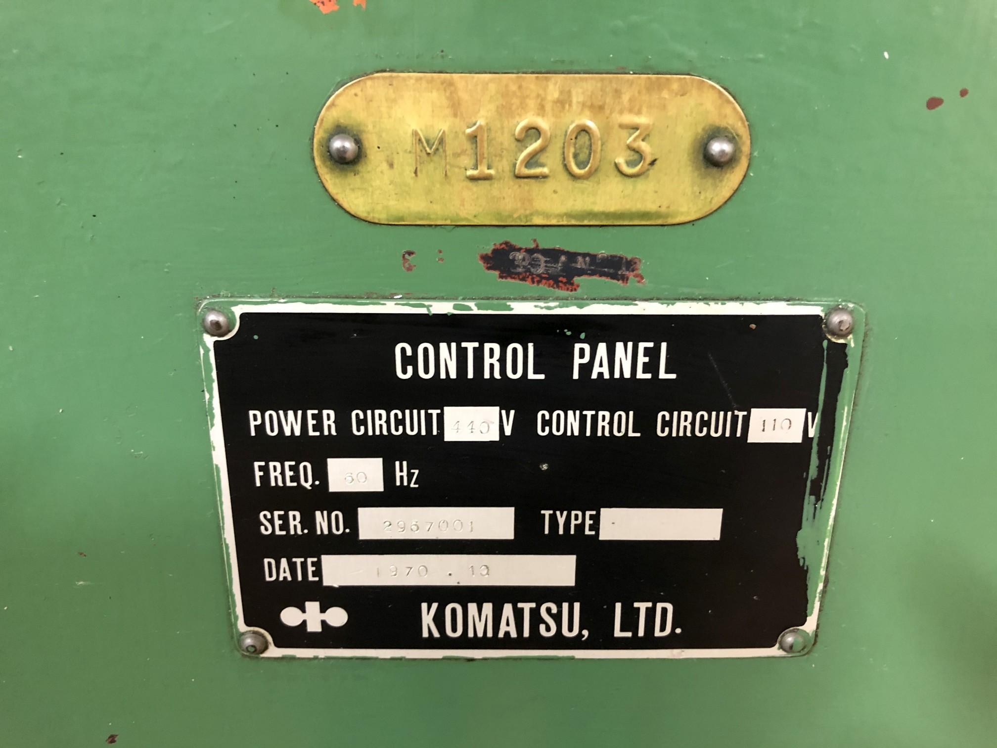 800 Ton Komatsu Maypress Knuckle Joint Press - Image 16 of 18