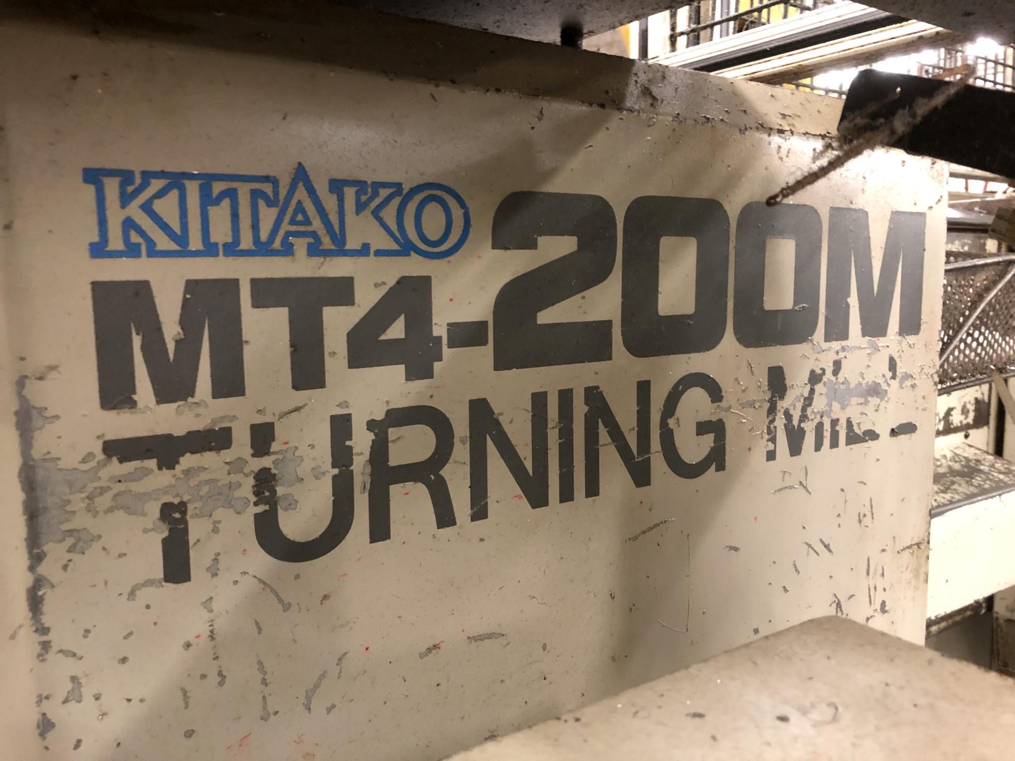 1999 Kitako MT4-200M Multi-Spindle CNC Turning Mill - Image 4 of 19