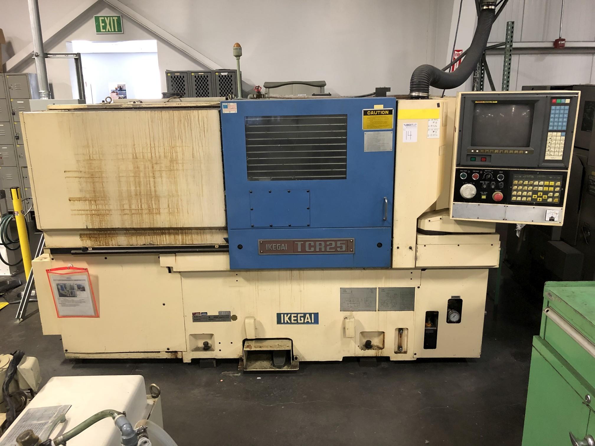 Ikegai TCR25 CNC Lathe - Image 2 of 15