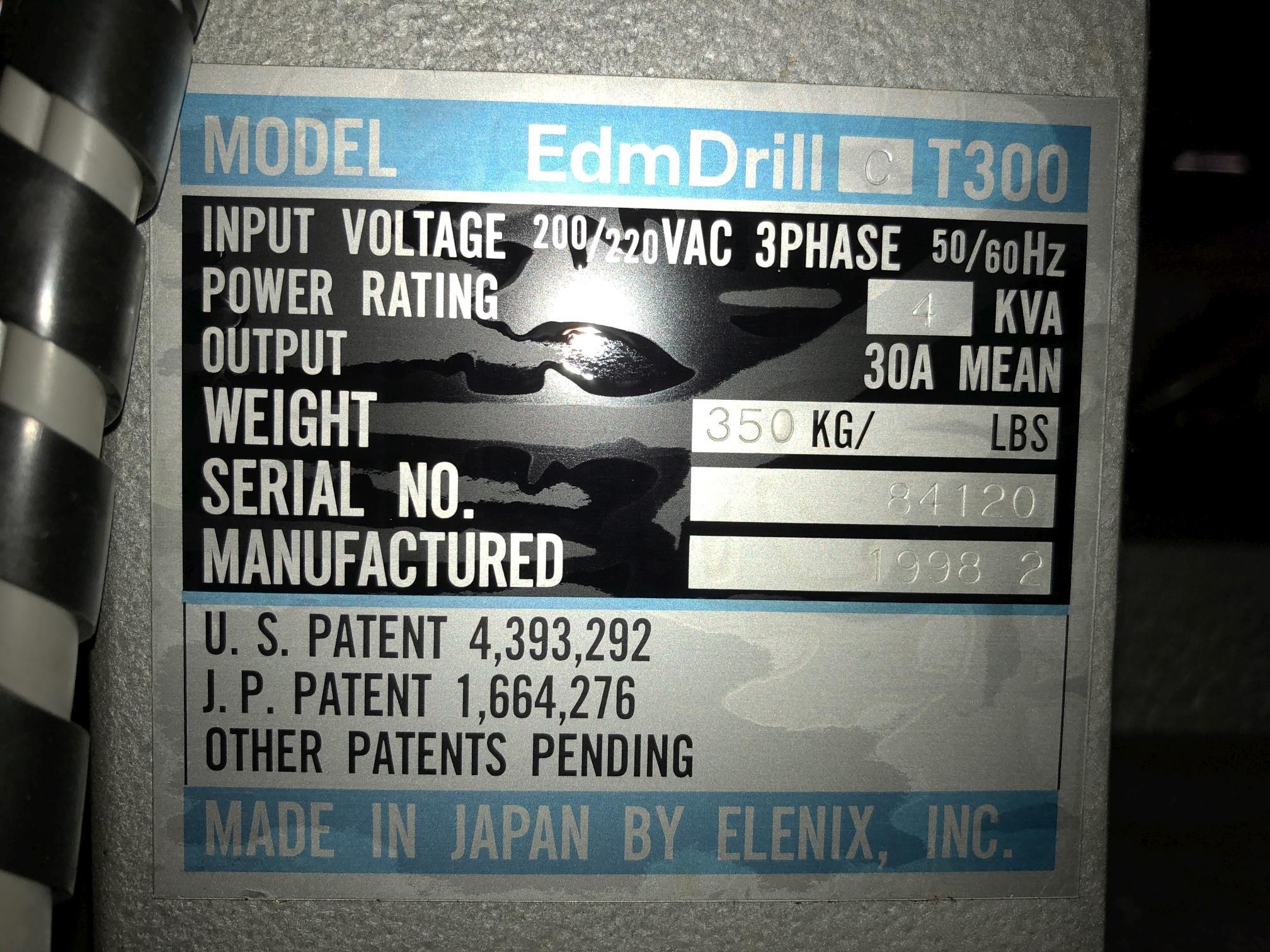 1998 Elenix Small Hole EDM Drill - Image 13 of 13