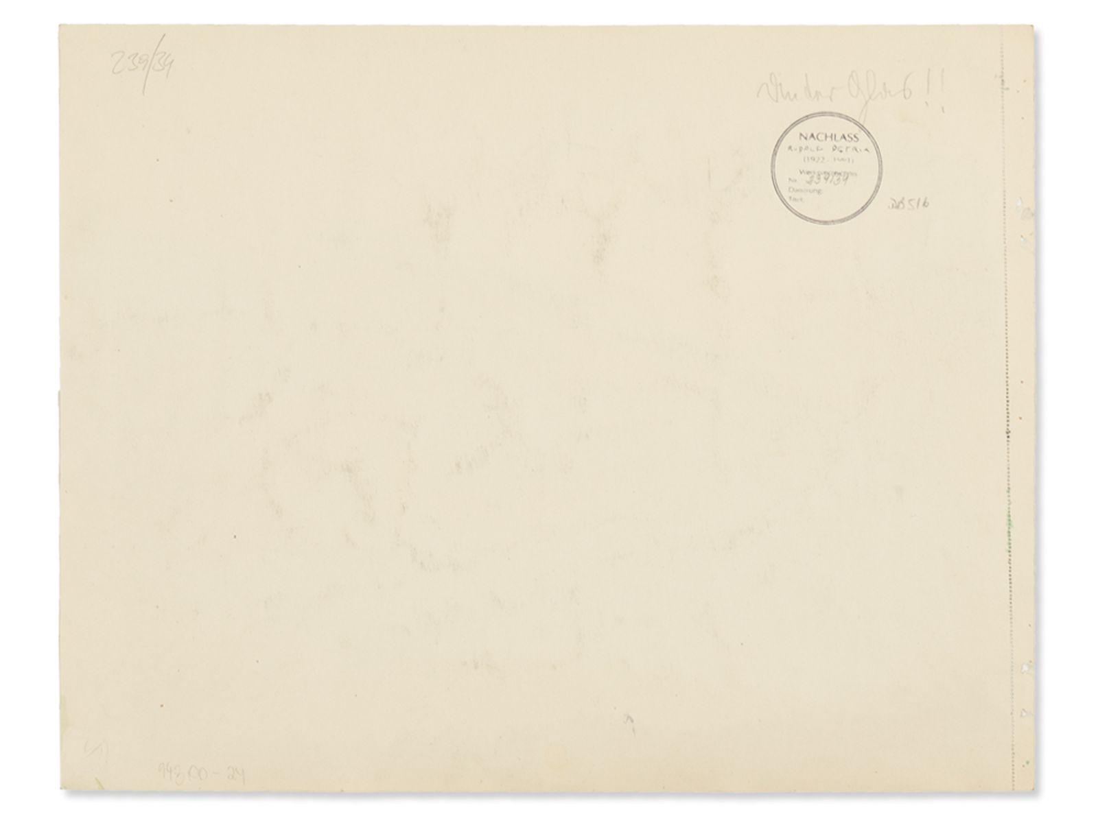 """Rudolf Petrik, """"Landscape"""" Austria, c. 1950 - Image 7 of 8"""