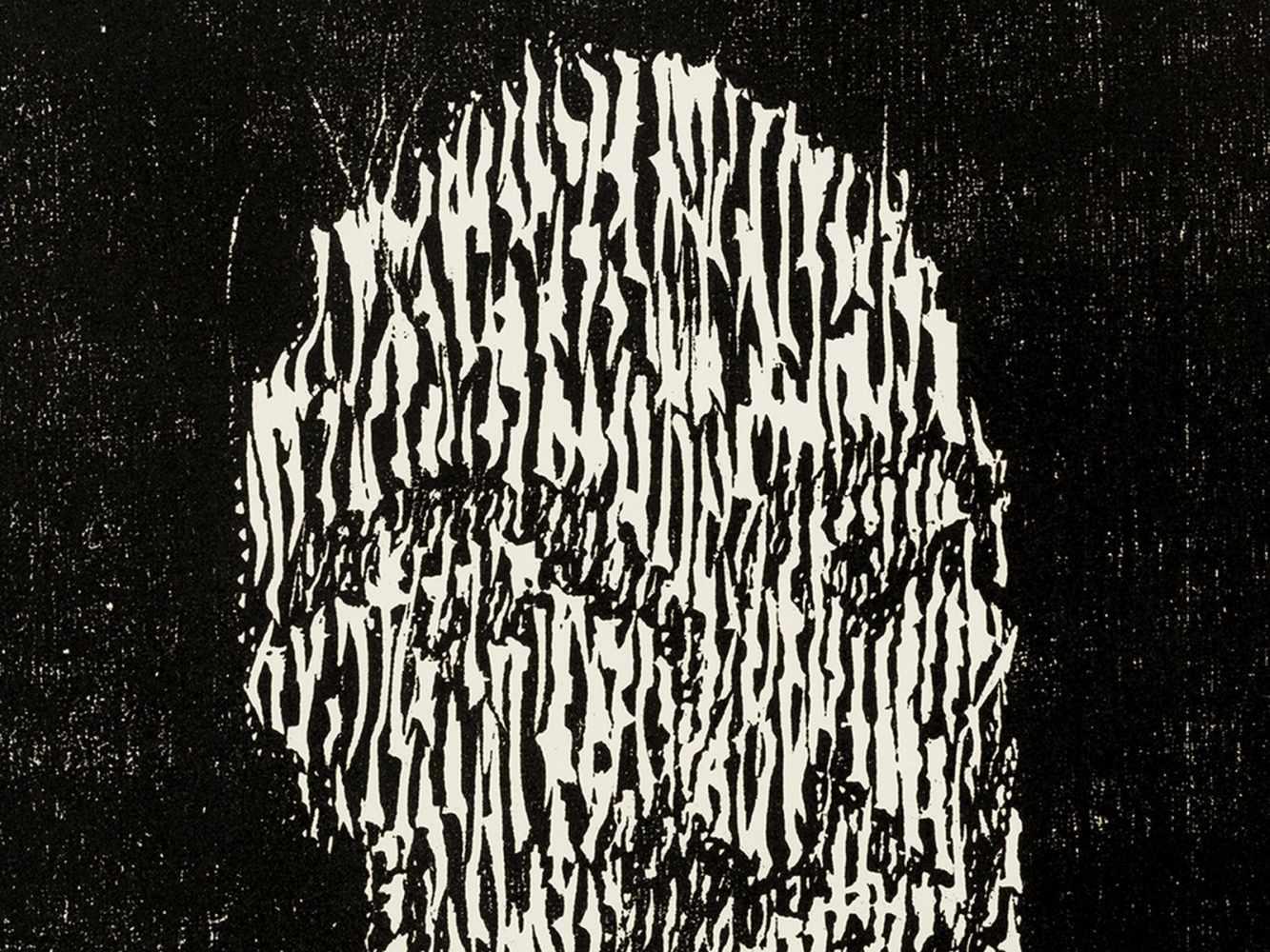 Matthias Mansen (b. 1958), G.W. Leibniz, Woodcut, 1999 - Image 6 of 9