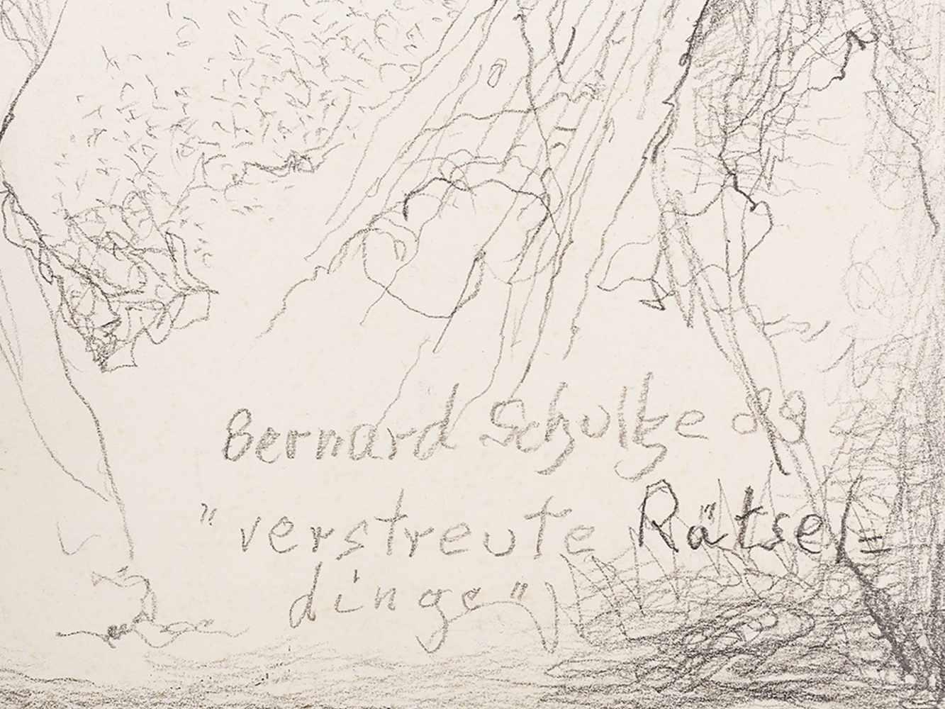 Bernard Schultze (1915-2005), Verstreute Rätseldinge, 1989< - Image 3 of 10