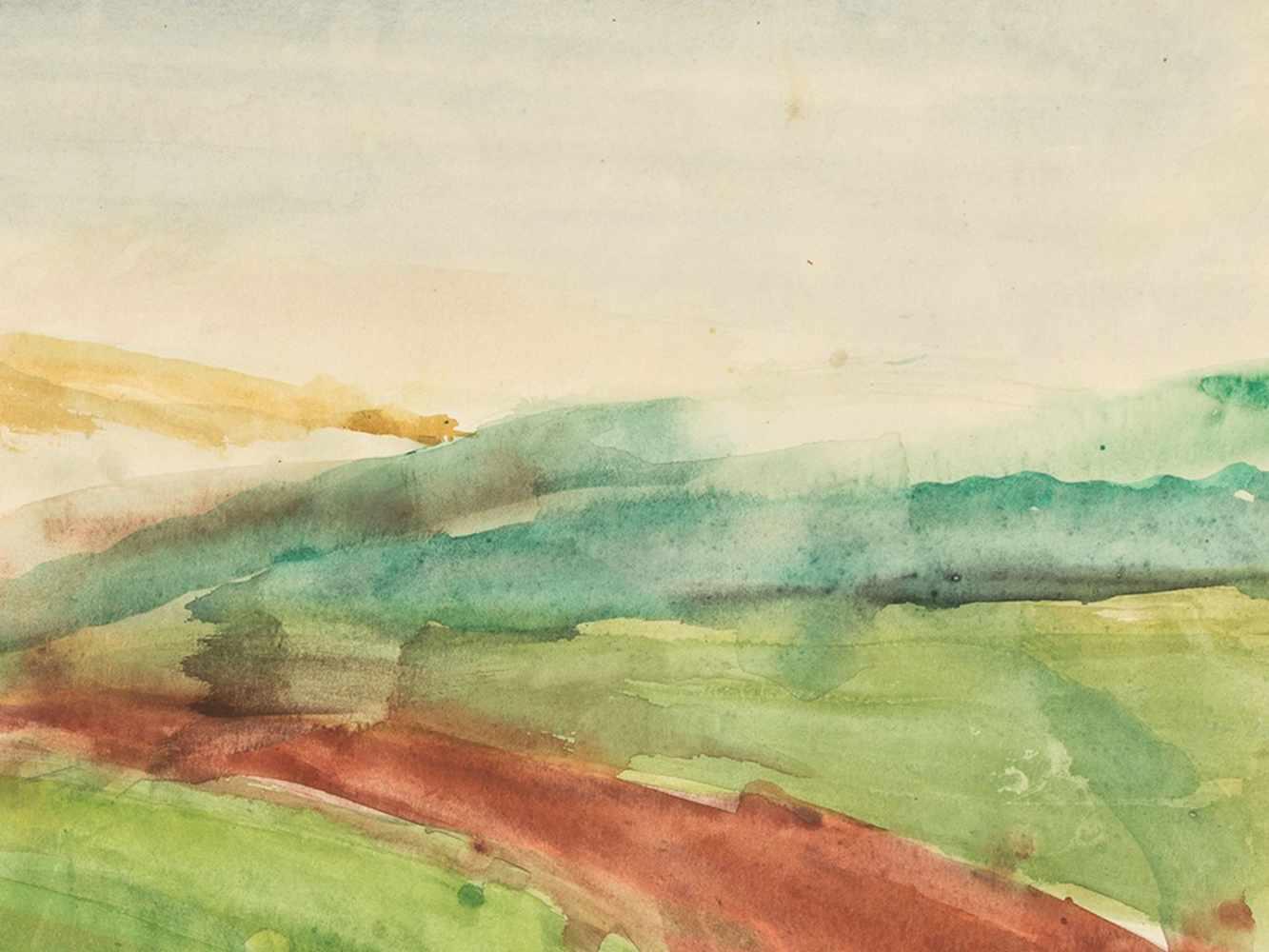 """Rudolf Petrik, """"Landscape"""" Austria, c. 1950 - Image 4 of 8"""