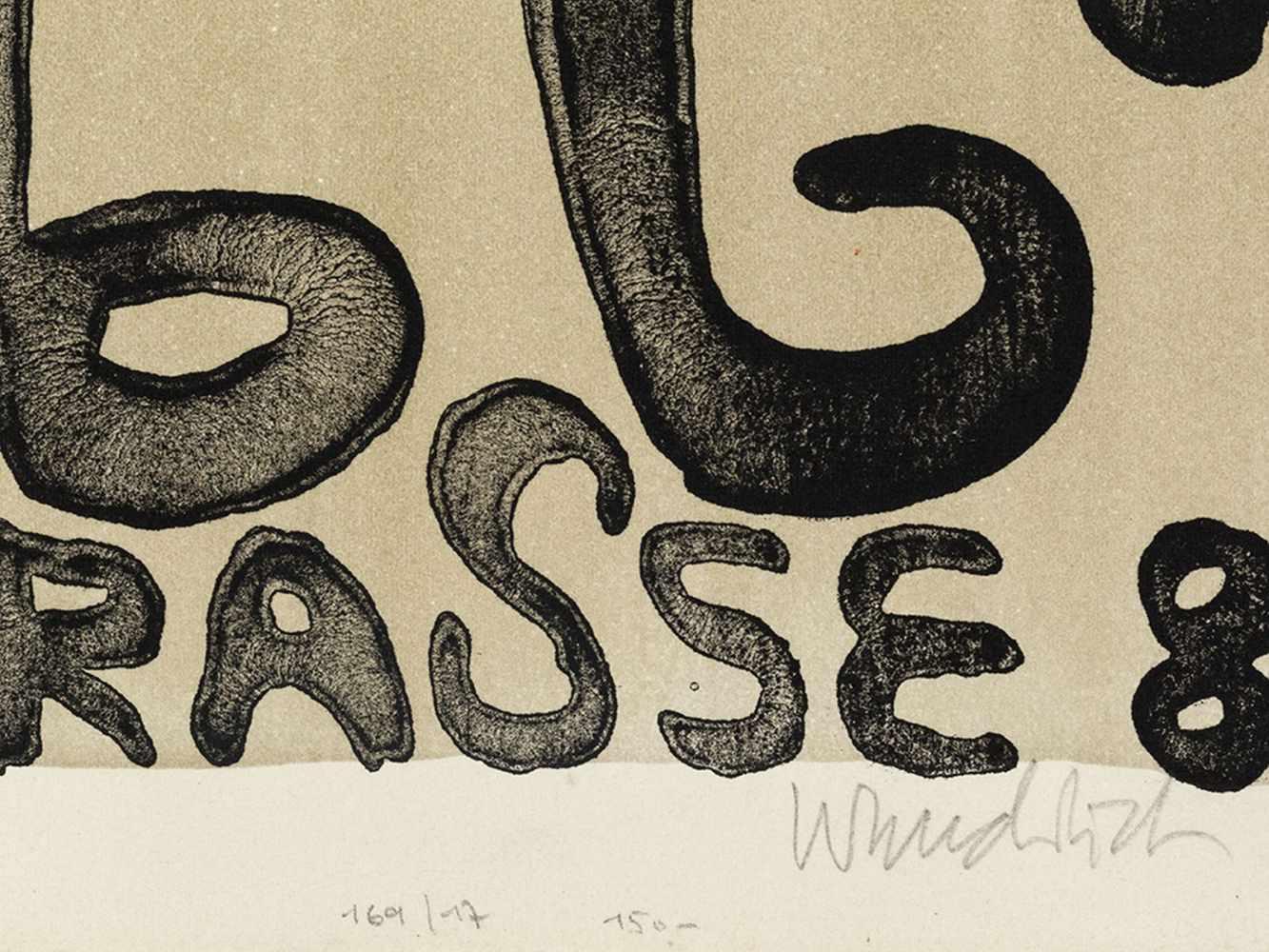 Paul Wunderlich, Kunst + Knoll International, Poster, 1963 - Image 3 of 9