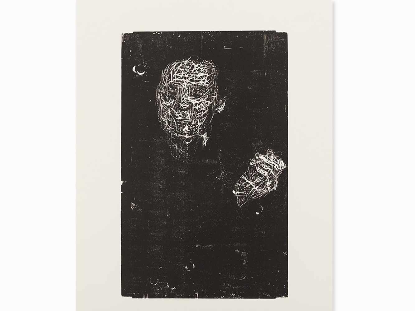 Matthias Mansen, Symposion (Köpfe), 12 Woodcuts, 1999< - Image 5 of 9