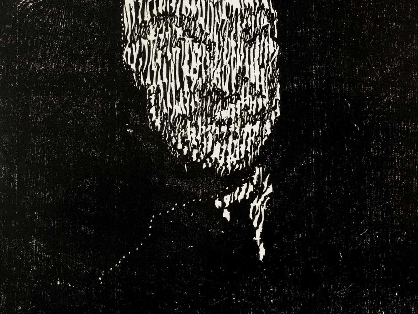 Matthias Mansen (b. 1958), G.W. Leibniz, Woodcut, 1999 - Image 5 of 9