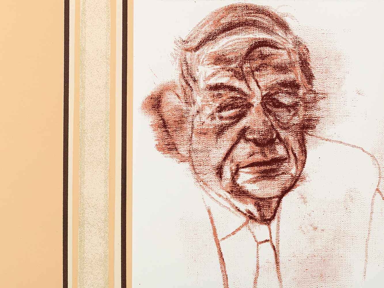R.B. Kitaj (1887-1948), W.H. Auden, Color Serigraph, 1969 - Image 6 of 10