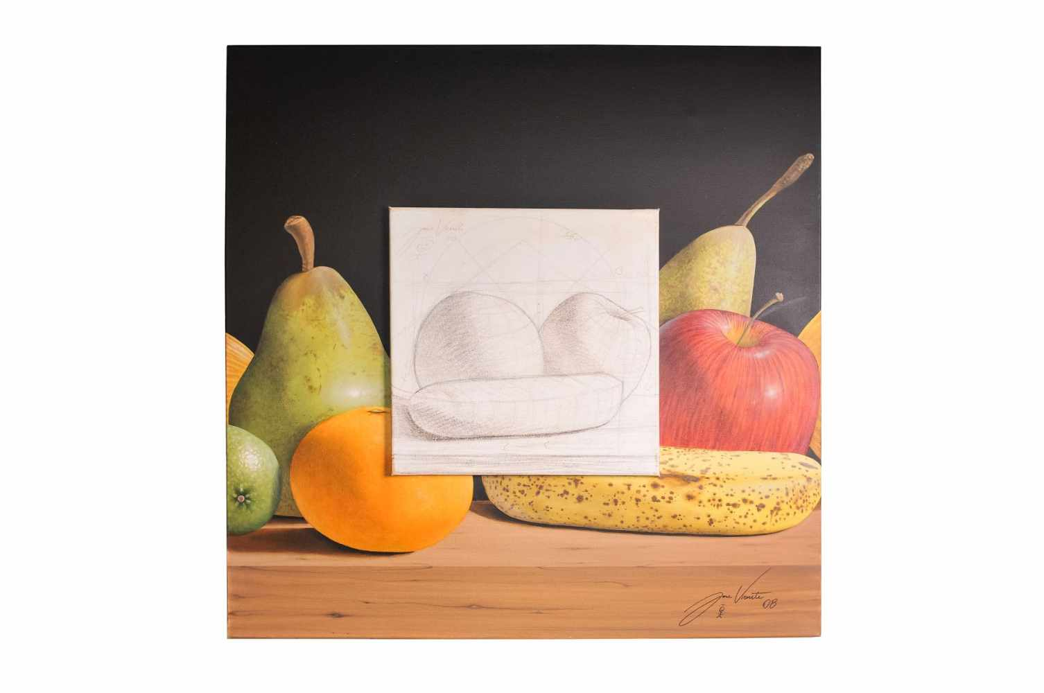 "Jose Vicente ""Still life with fruit"""
