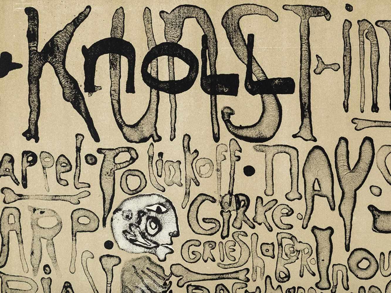 Paul Wunderlich, Kunst + Knoll International, Poster, 1963 - Image 5 of 9