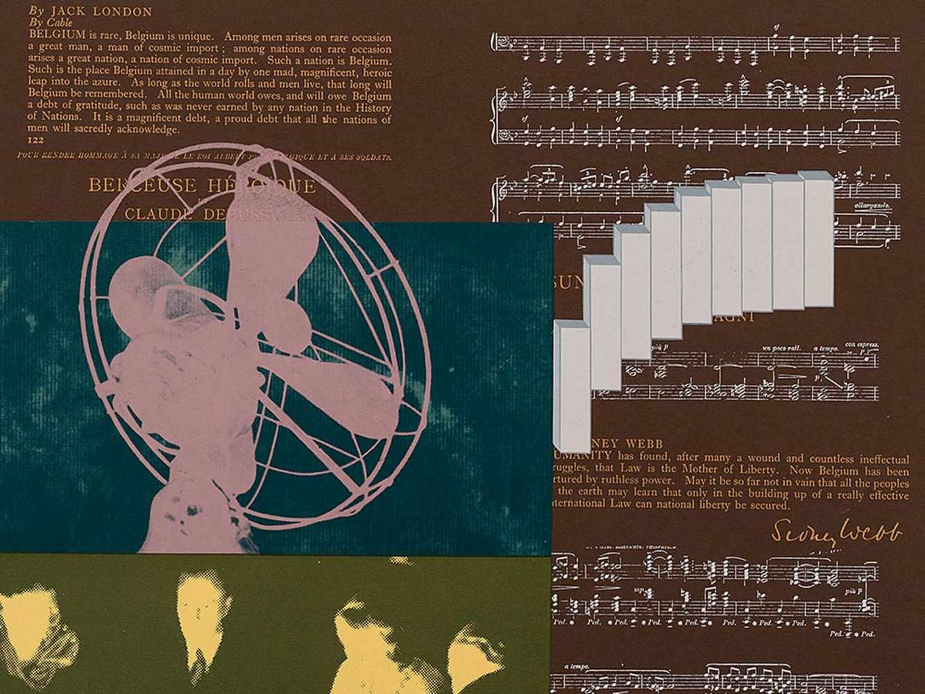 R.B. Kitaj, Heart, Serigraph in Colors, 1966 - Image 6 of 8