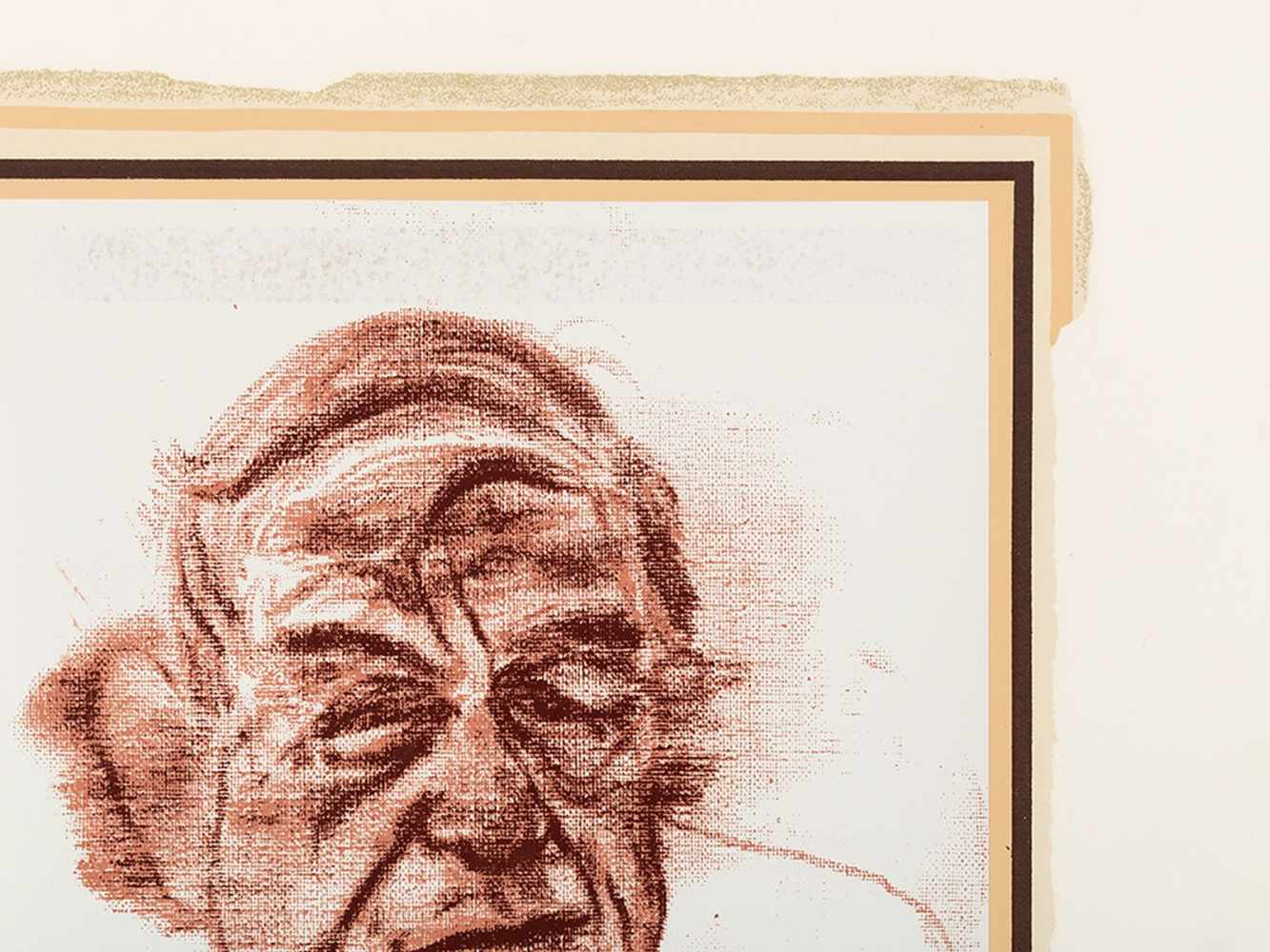 R.B. Kitaj (1887-1948), W.H. Auden, Color Serigraph, 1969 - Image 7 of 10