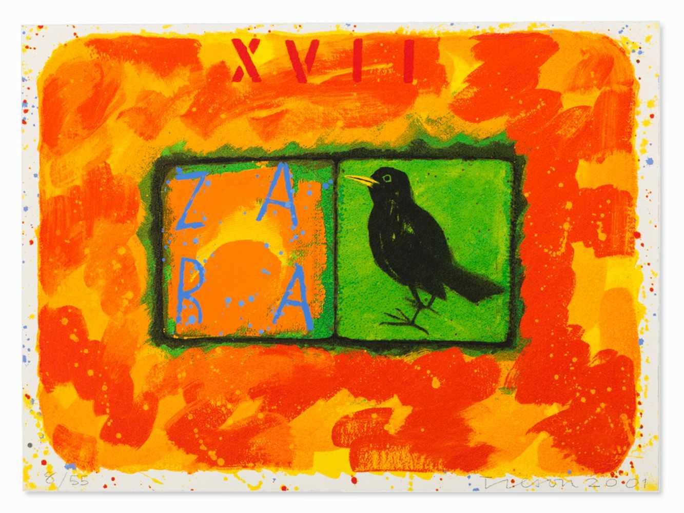 Joe Tilson, Conjunctions, 3 Serigraphs in Colors, 2001 - Image 4 of 7