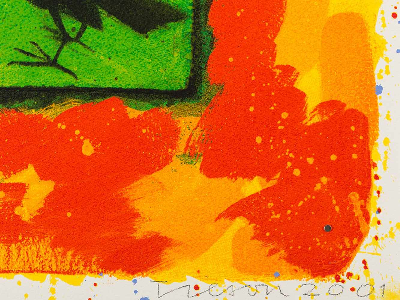 Joe Tilson, Conjunctions, 3 Serigraphs in Colors, 2001 - Image 5 of 7