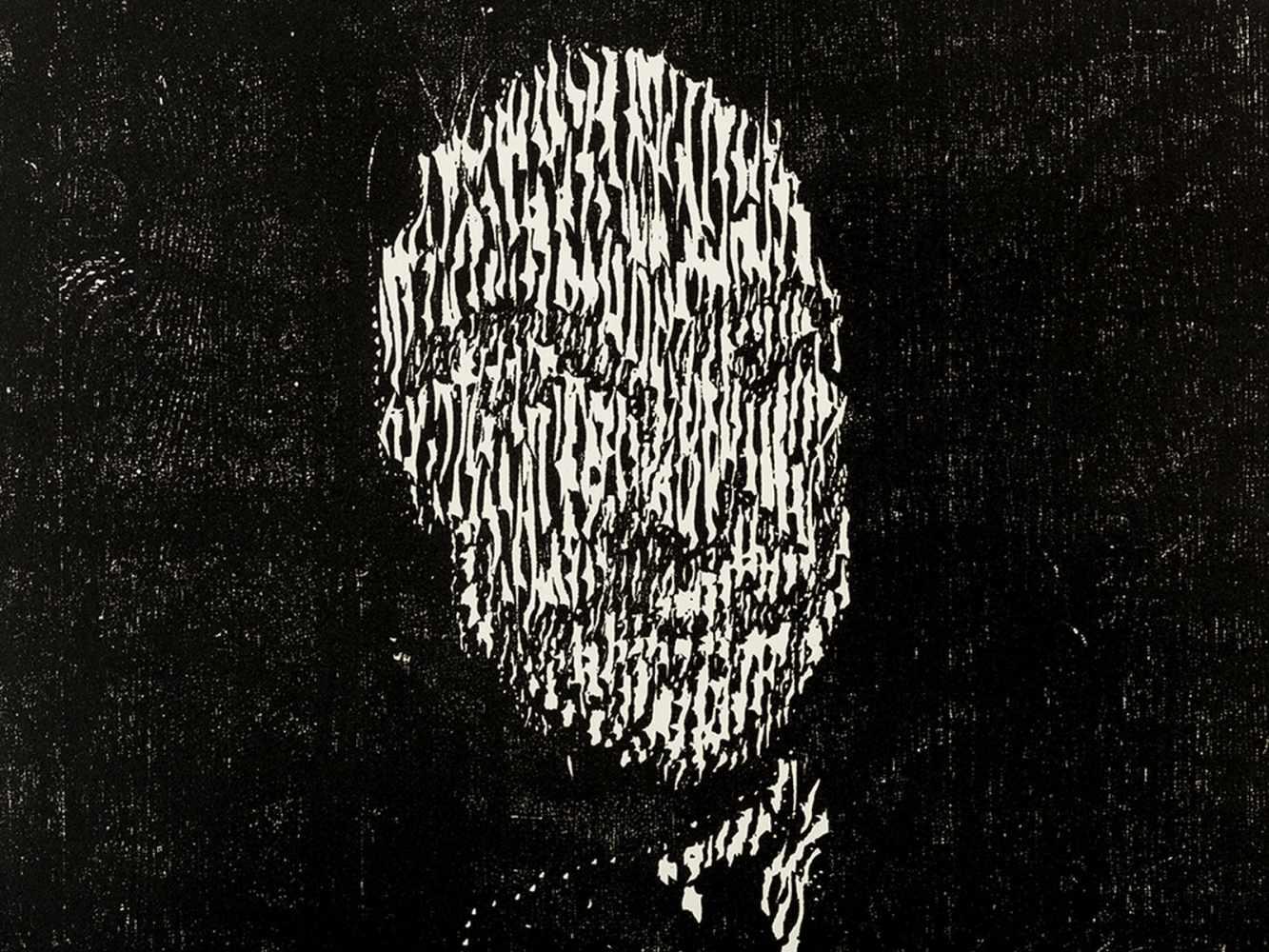 Matthias Mansen (b. 1958), G.W. Leibniz, Woodcut, 1999 - Image 2 of 9