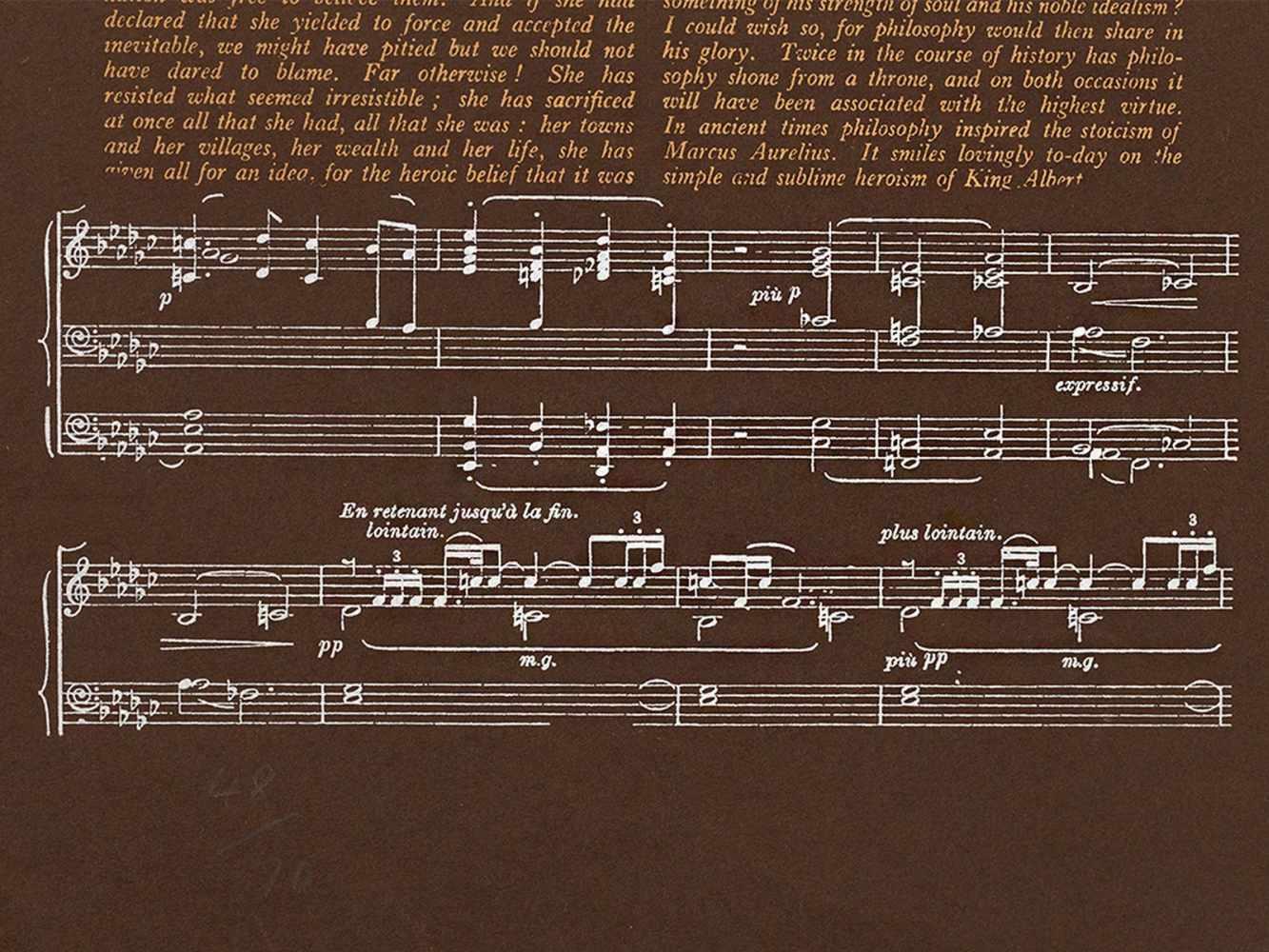 R.B. Kitaj, Heart, Serigraph in Colors, 1966 - Image 7 of 8