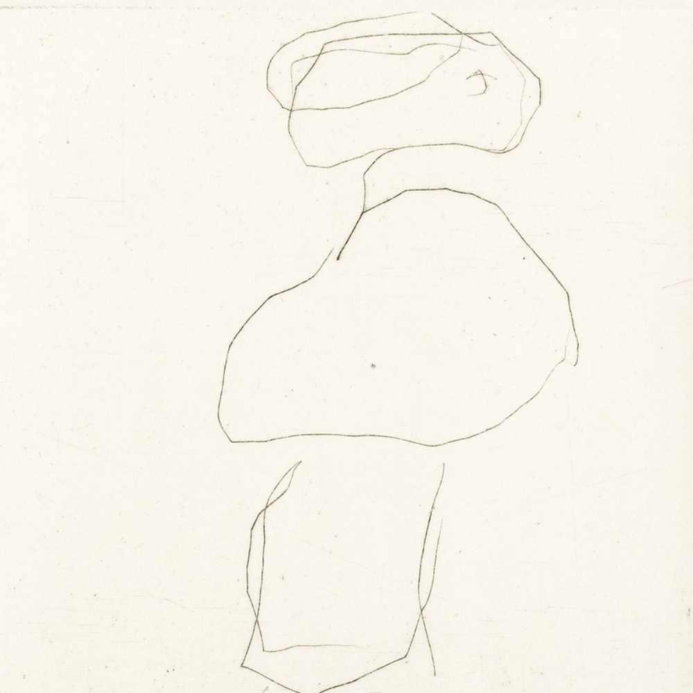 Gerhard Altenbourg, Pelerine und Feudel, Drypoint Etching, 1988 - Image 6 of 6