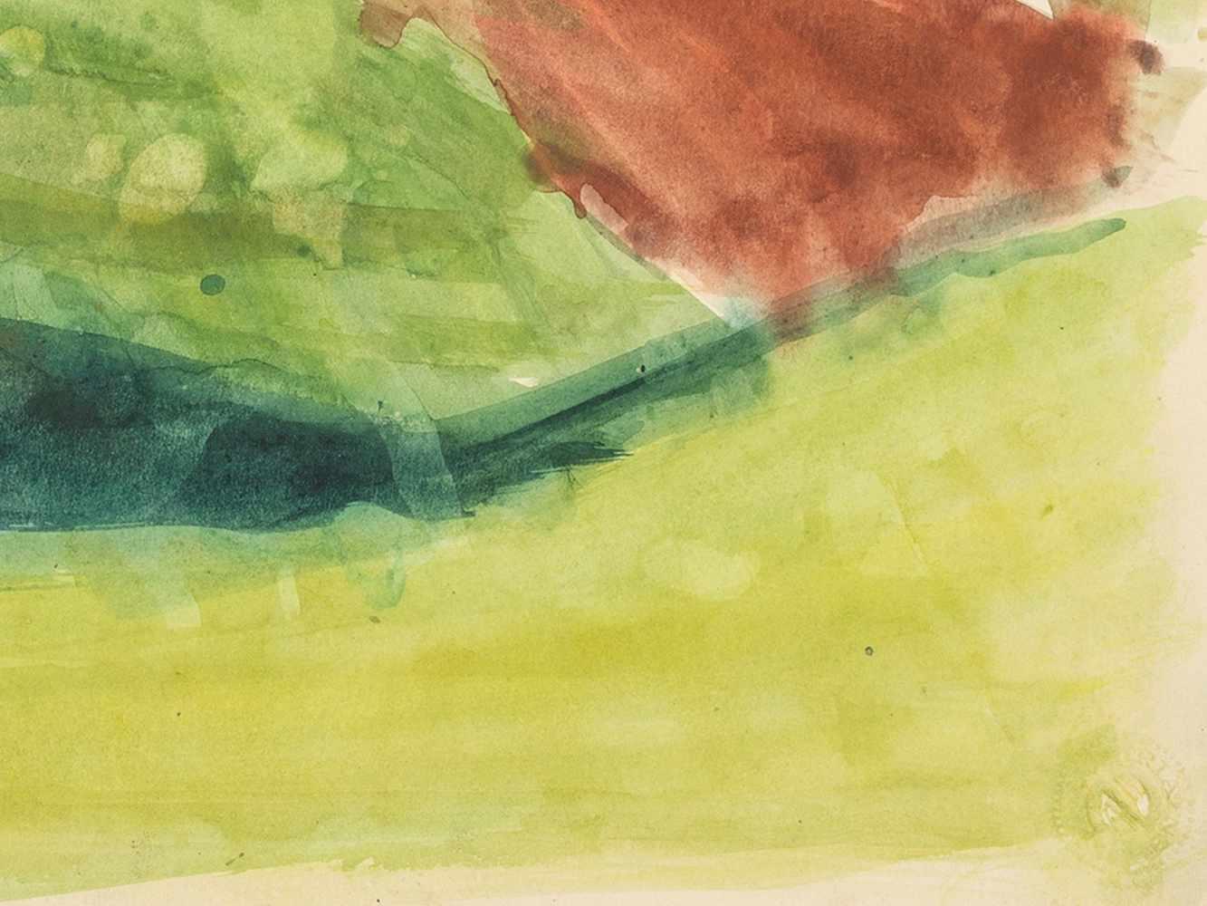 """Rudolf Petrik, """"Landscape"""" Austria, c. 1950 - Image 3 of 8"""