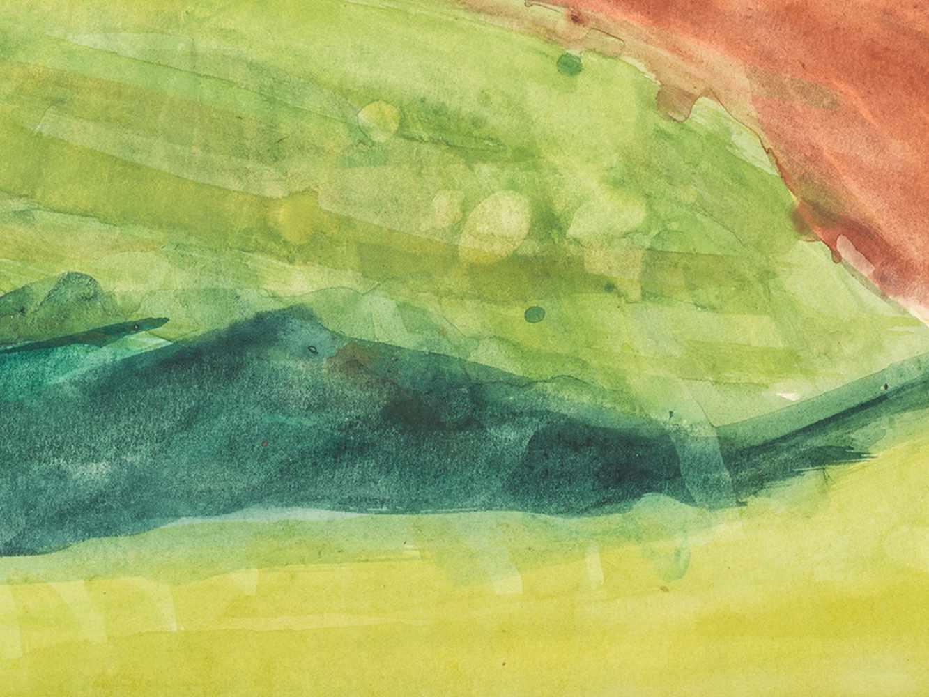 """Rudolf Petrik, """"Landscape"""" Austria, c. 1950 - Image 2 of 8"""