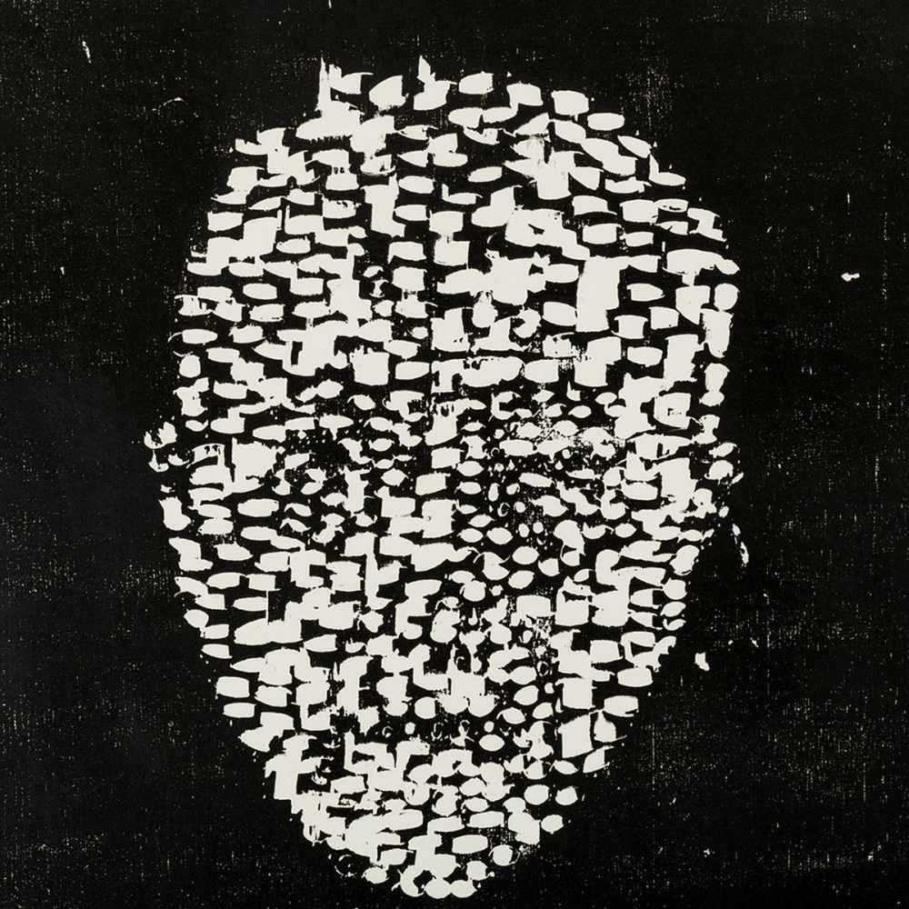 Matthias Mansen (b. 1958), Max von Laue, Woodcut, 1999 - Image 7 of 7