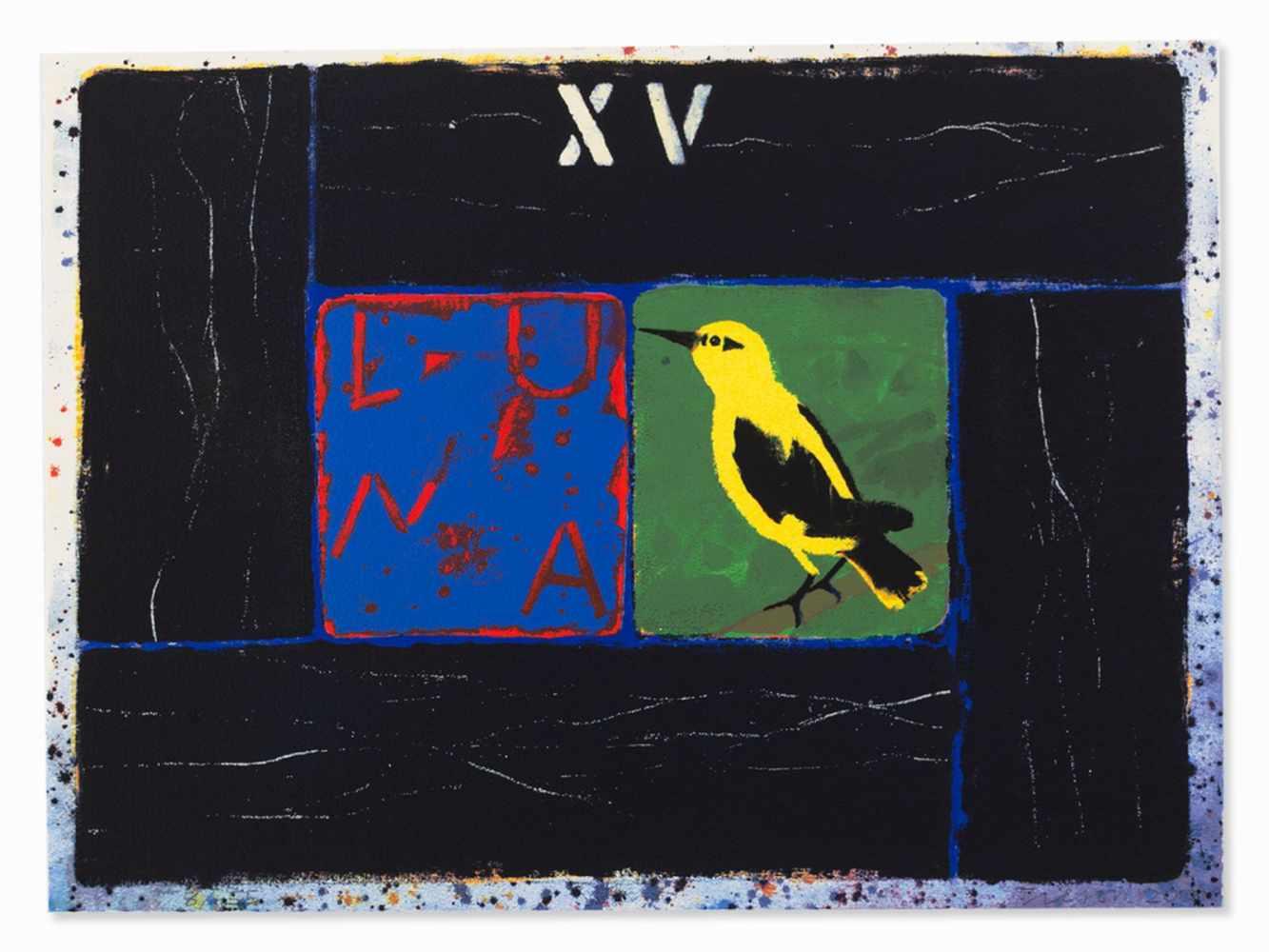 Joe Tilson, Conjunctions, 3 Serigraphs in Colors, 2001 - Image 6 of 7