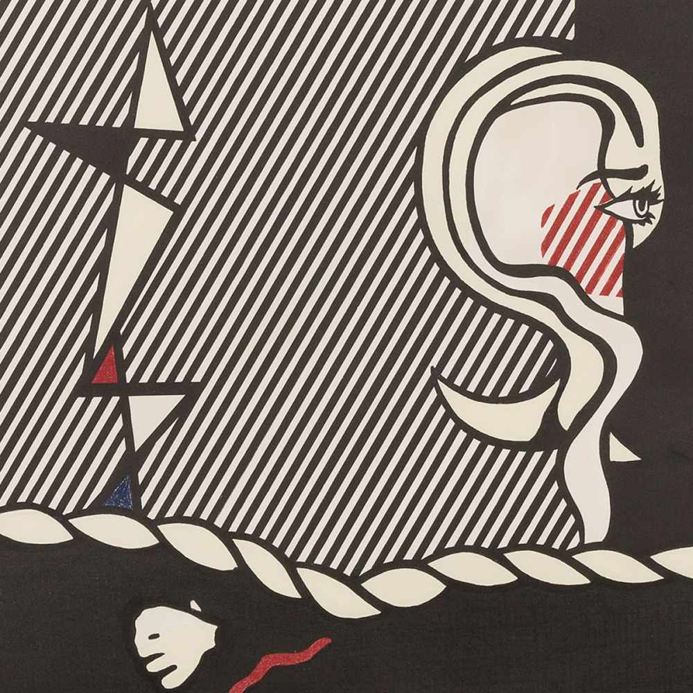 Roy Lichtenstein(1923-1997), 'Figures with Rope', Lithograph, 1978<br - Image 7 of 7