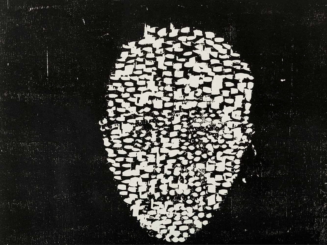 Matthias Mansen (b. 1958), Max von Laue, Woodcut, 1999 - Image 4 of 7