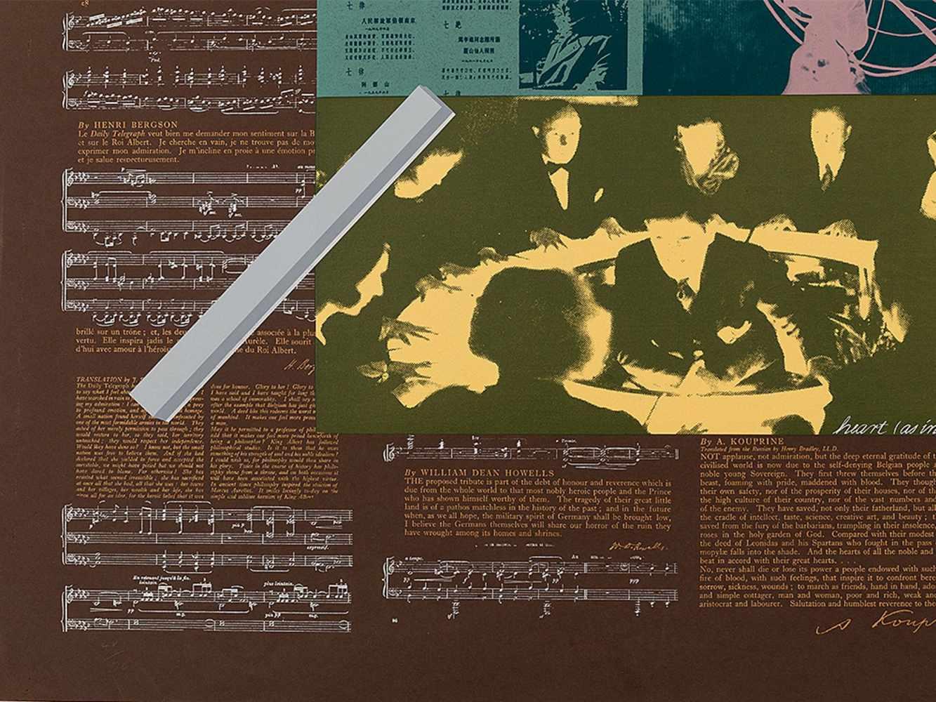 R.B. Kitaj, Heart, Serigraph in Colors, 1966 - Image 5 of 8