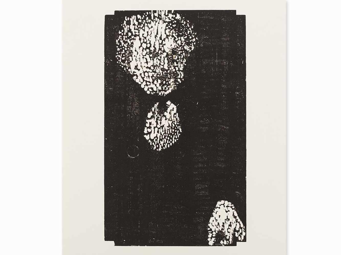 Matthias Mansen, Symposion (Köpfe), 12 Woodcuts, 1999< - Image 7 of 9
