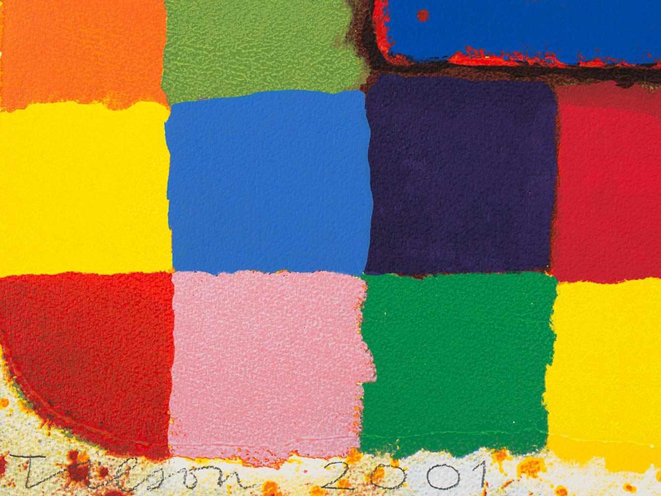 Joe Tilson, Conjunctions, 3 Serigraphs in Colors, 2001 - Image 3 of 7