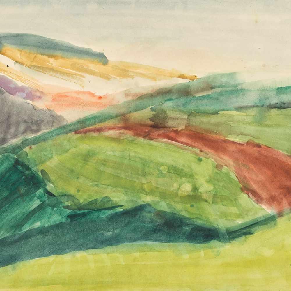 """Rudolf Petrik, """"Landscape"""" Austria, c. 1950 - Image 8 of 8"""