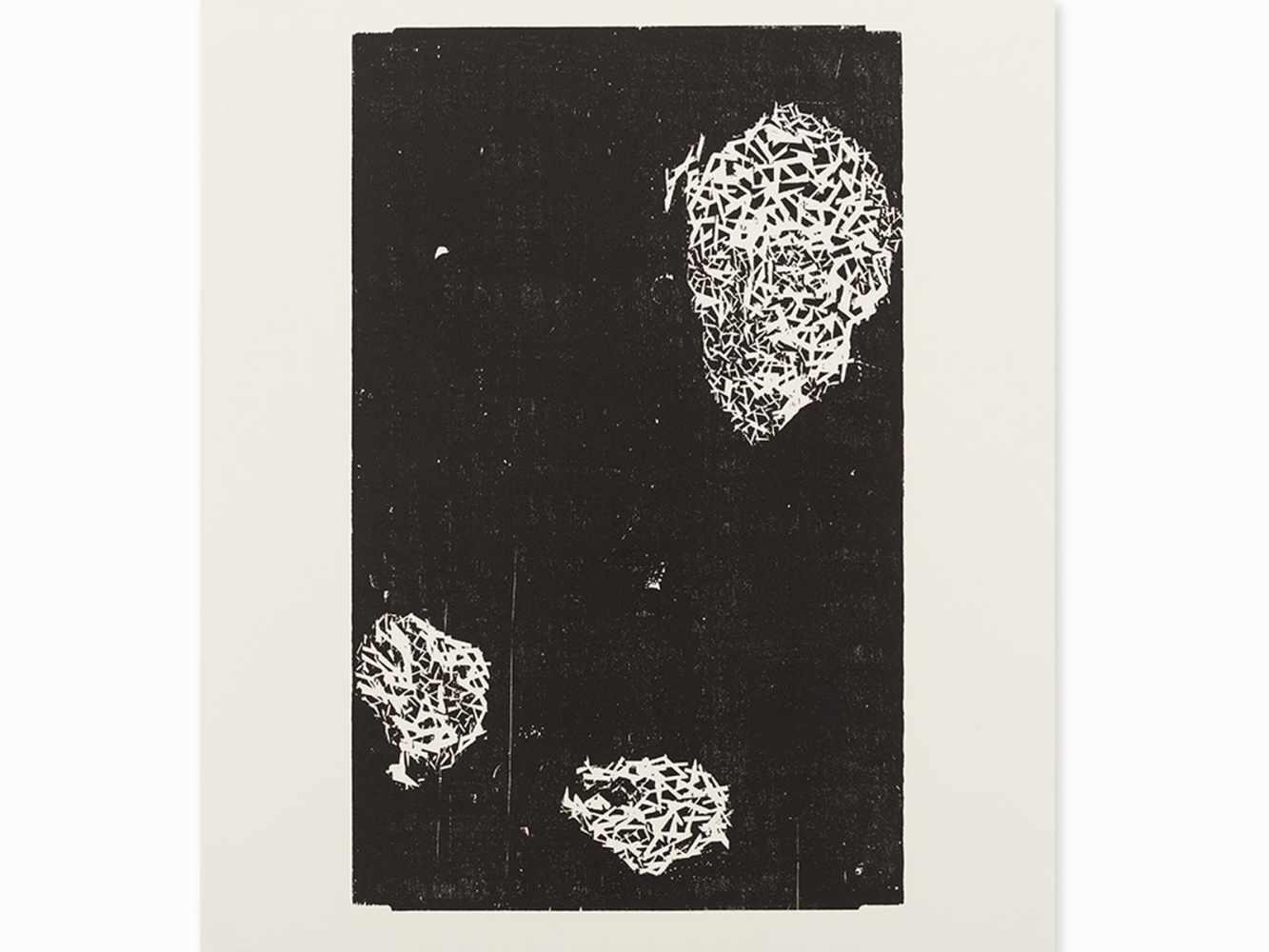 Matthias Mansen, Symposion (Köpfe), 12 Woodcuts, 1999< - Image 4 of 9