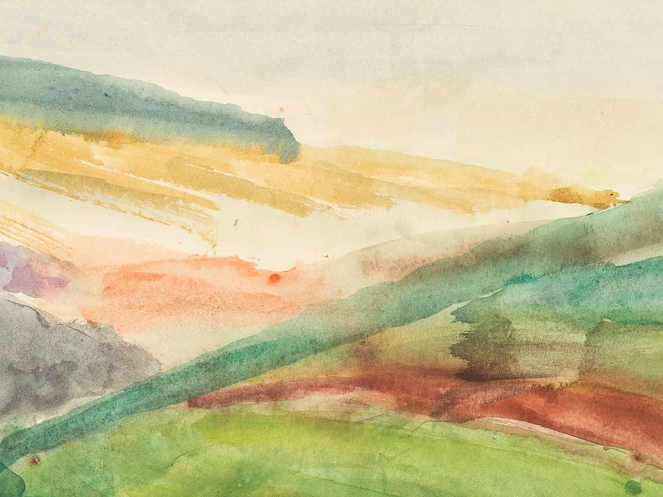 """Rudolf Petrik, """"Landscape"""" Austria, c. 1950 - Image 5 of 8"""