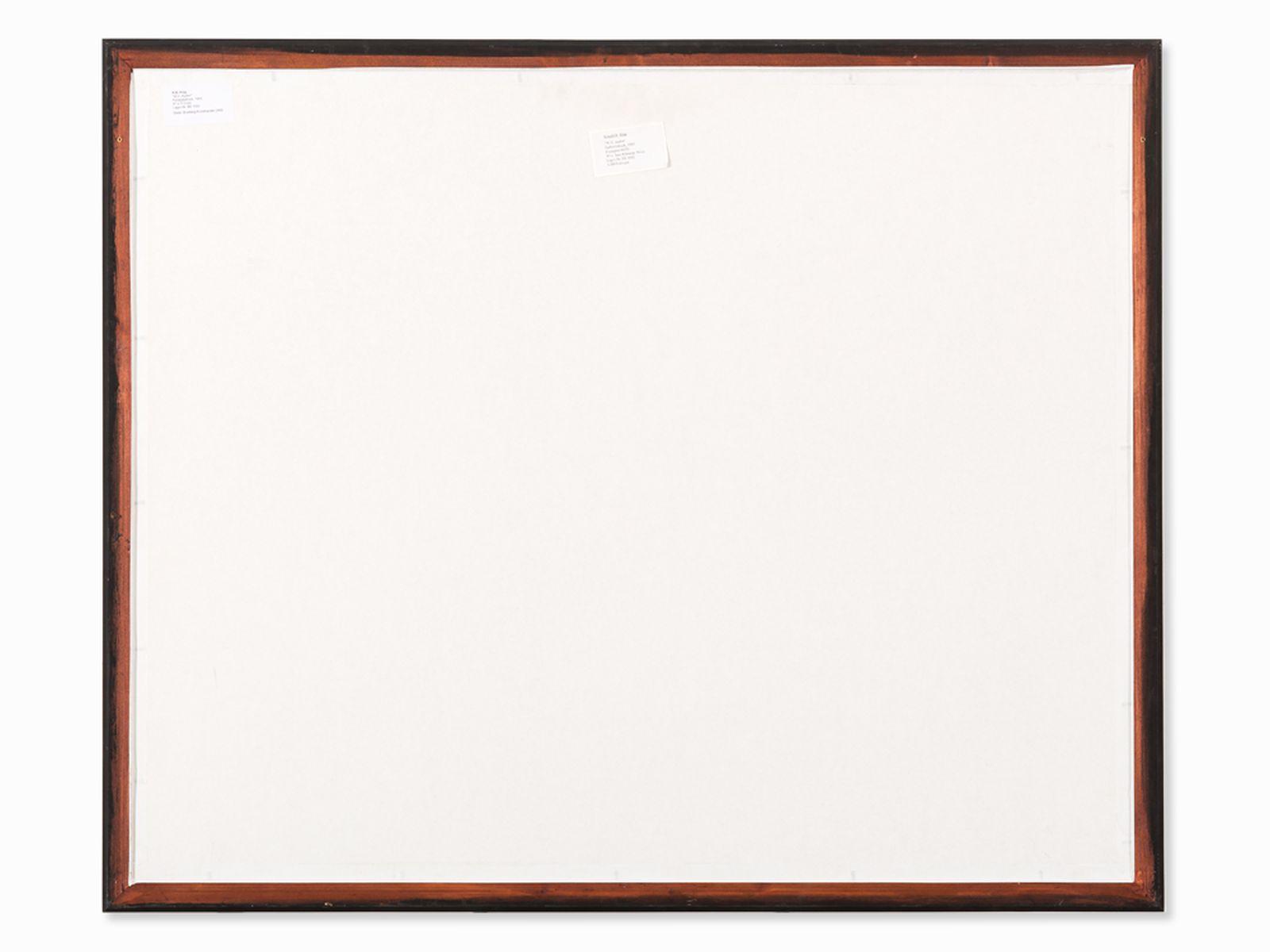 R.B. Kitaj (1887-1948), W.H. Auden, Color Serigraph, 1969 - Image 10 of 10