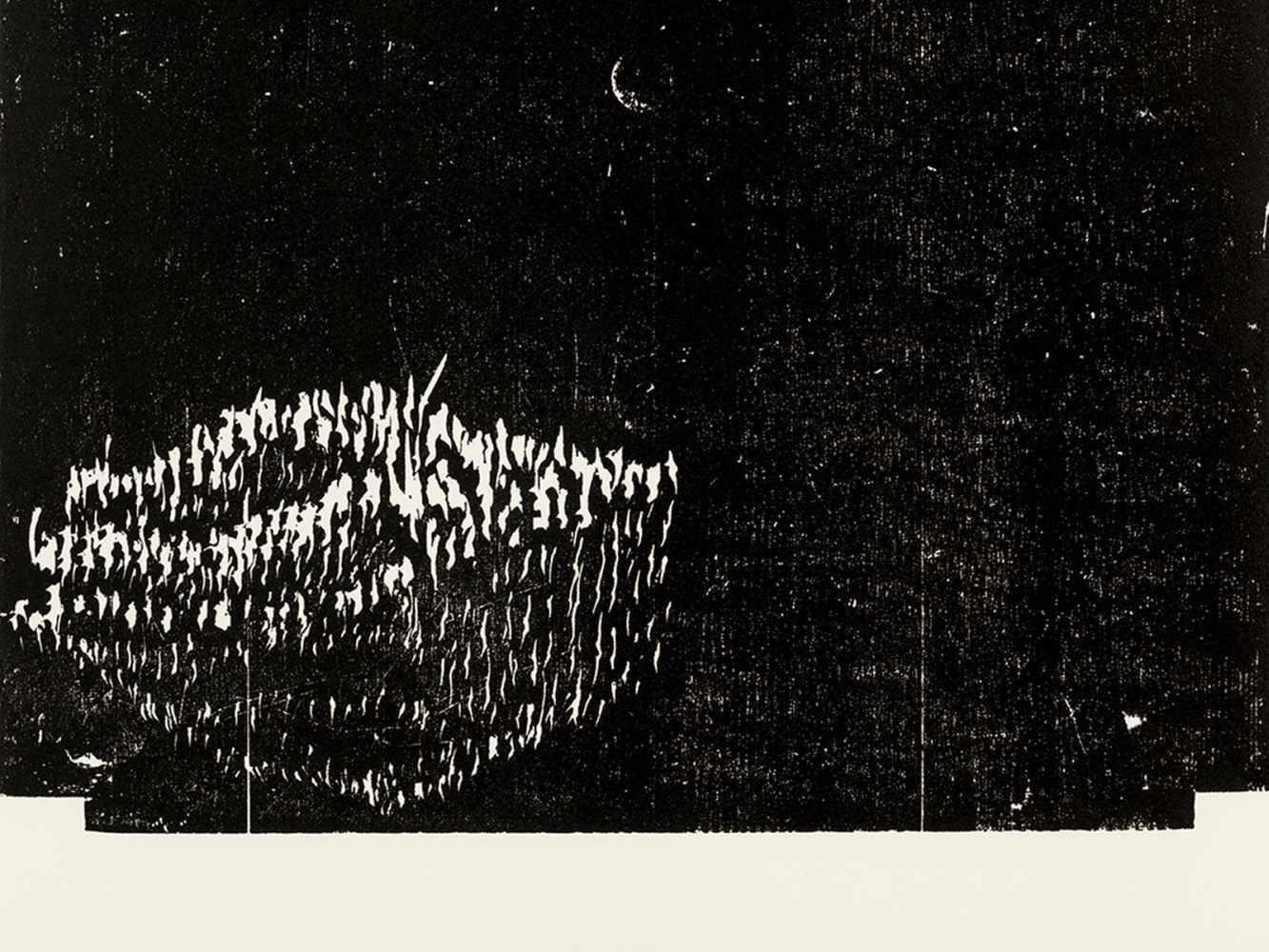 Matthias Mansen (b. 1958), G.W. Leibniz, Woodcut, 1999 - Image 7 of 9