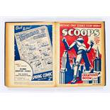 Scoops (1934) 1-20. Complete series in bound volume. The UK's first science fiction weekly with