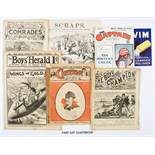 Early Comic Papers (1881-1908). Boy's Champion 7, Boys' Herald 1-10, Boy's Prince of Novelettes 186,