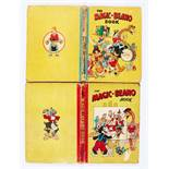Magic-Beano Book 1948, 1950. 1948: loose, worn spine missing pages 33 and 57, page 59 two-thirds
