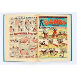 Dandy (1947) 335-359 Xmas. Complete year in bound volume including Christmas Special Danny