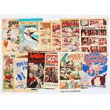 Sparkler Comics (1948-49 Donald Peters) 3, 12, 13, 15, 16. With Tic Tac Toe 1 (UK reprint of