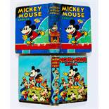 Mickey Mouse Annuals 1931 (No 2) 1939. No 2: Professionally reinforced spine with part of original