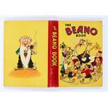 Beano Book 3 (1942). Big Eggo in a spin. Bright boards and spine, top corner knock, minimal wear, no
