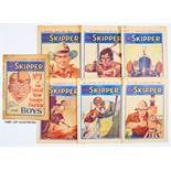 Skipper (1930-32) 1-14, 16, 17, 100. No 1 [gd-], most other issues with neat pen annotations to