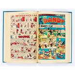 Dandy (1949) 386-423. Complete year in bound volume. Starring Daddy Longlegs and Desperate Dan by