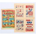 Beano Comic No 1 (1938). With Beano No 1 and No 2 Flyer 8 pg Mini Comic. First appearances of Big